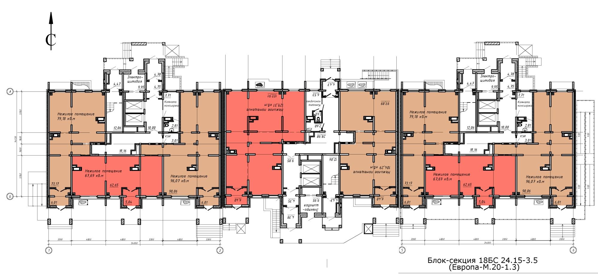 Коммерческая недвижимость парковый 2 офисные помещения под ключ Ботанический 2-й проезд